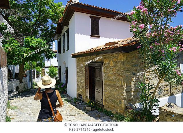 Sirince. Old Picturesque Greek town. Turkey