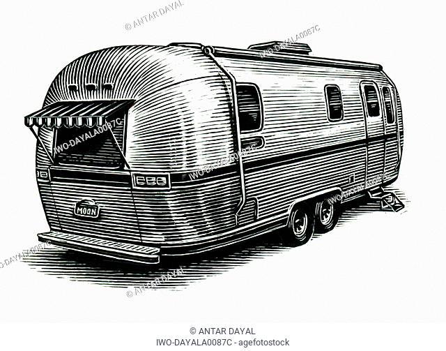 Airstream camper
