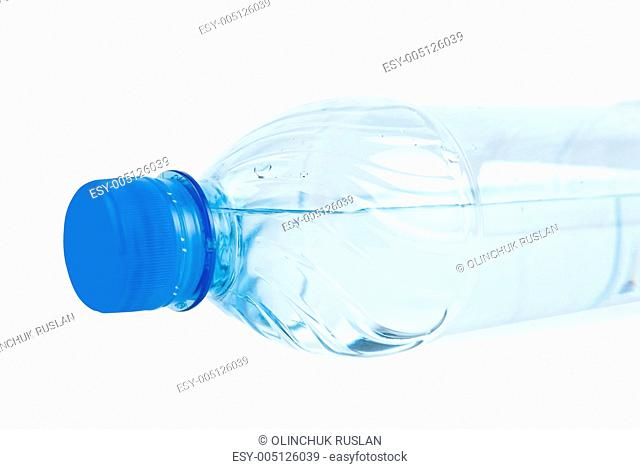 bottle with drinking water