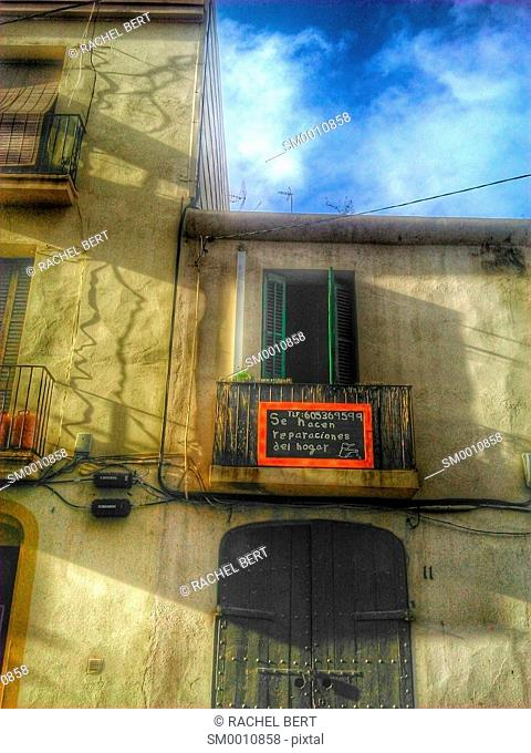 Urban Scene, Clot neighborhood, Barcelona, Catalonia