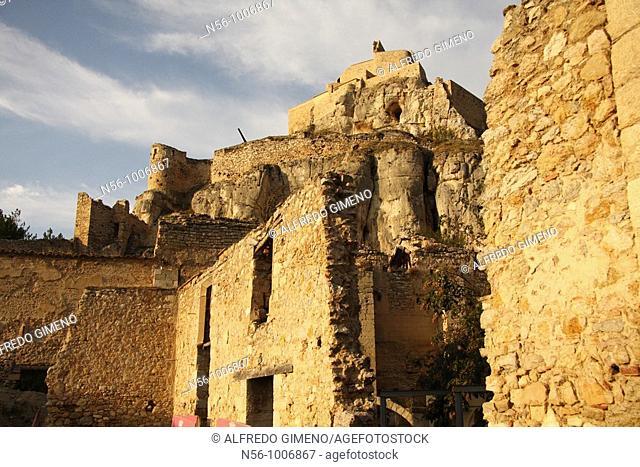 Old village, Villafranca, Castellón province, Spain