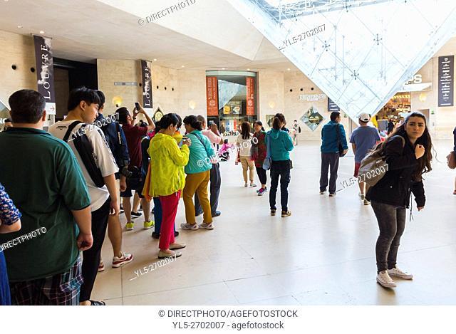 Paris, France, French Shopping Center, Le Carousel du Louvre, Inside