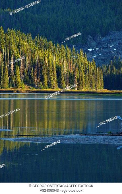 Sparks Lake, Cascade Lakes National Scenic Byway, Deschutes National Forest, OR