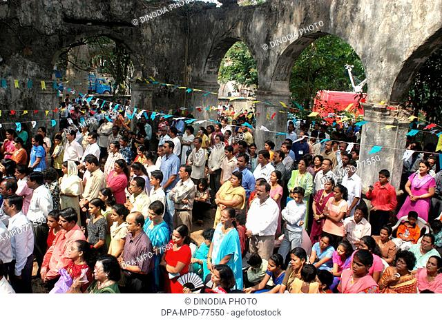 Thousands of Christians from Marol and around attended Holy mass organized by Parishioners of Marol Village at the Historic 500 year old St John The Baptist...