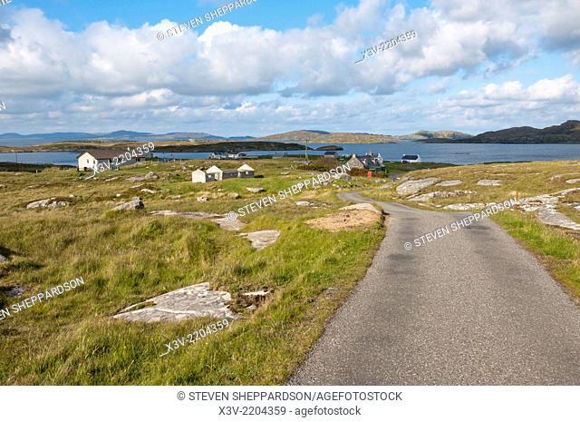 Europe, Scotland, Outer Hebrides - Bruairnis or Bruernish on the island of Barra