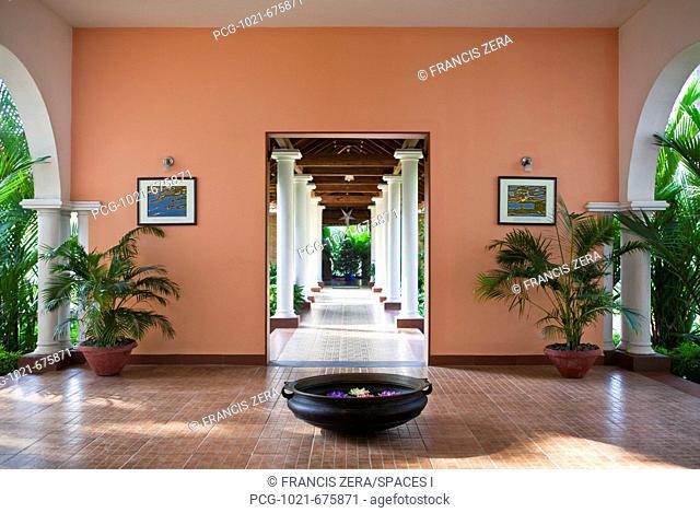 Interior of Resort