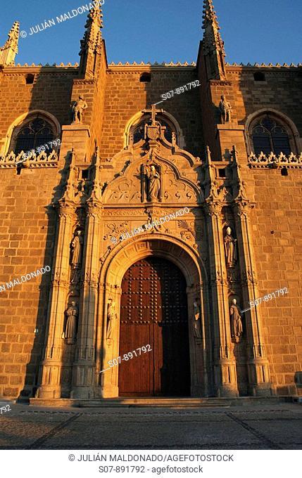 Detalle del Monasterio de San Juan de los Reyes, Toledo