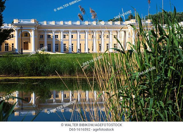Russia, Saint Petersburg, Pushkin-Tsarskoye Selo, Alexander Palace, final home of Czar Nicholas II until the Russian Revolution