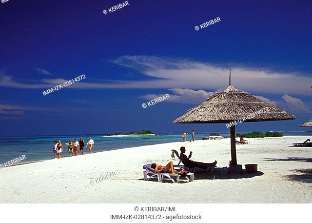 Club Med shade, Maldives, Asia