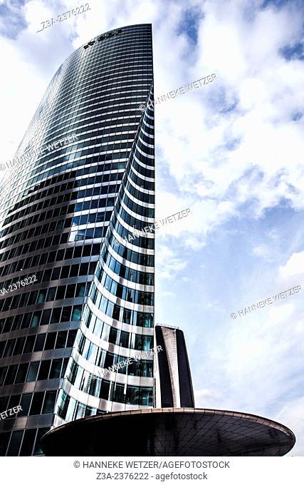 Tour EDF, skyscrapers at Paris-La Défense, France. at Paris-La Défense, France