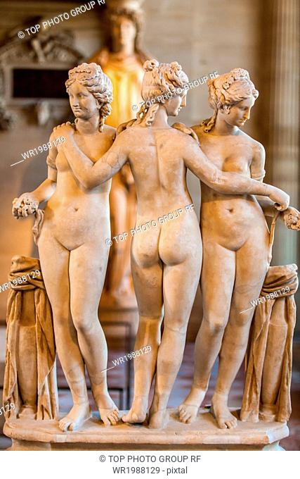 France;Paris;Louvre;exhibition hall