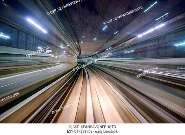 Monorail Motion Blur