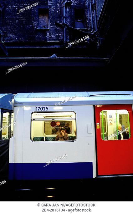 Subway, London, England, UK, Europe