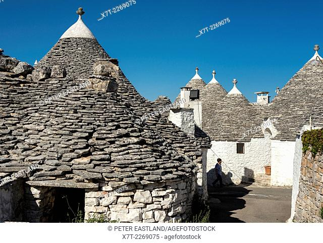 Trulli houses at Alberobello, Puglia, Italy