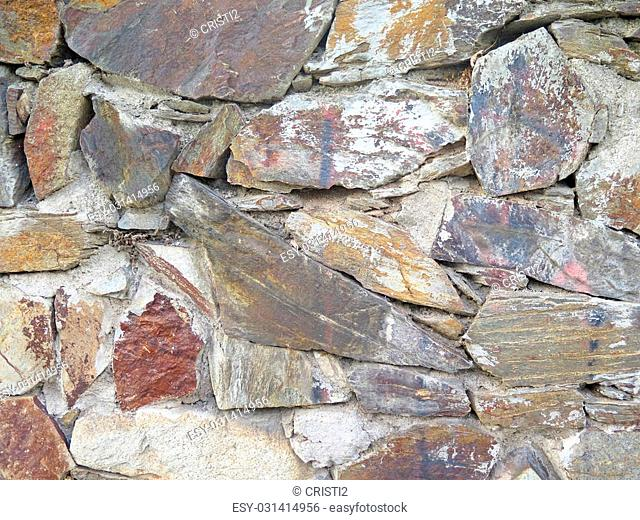 texture weathered stone wall