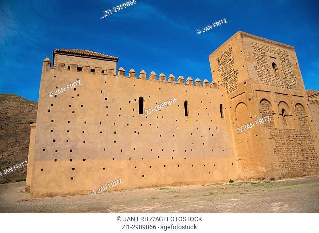 12th century Mosque de Tinmel in High Atlas, Maroc