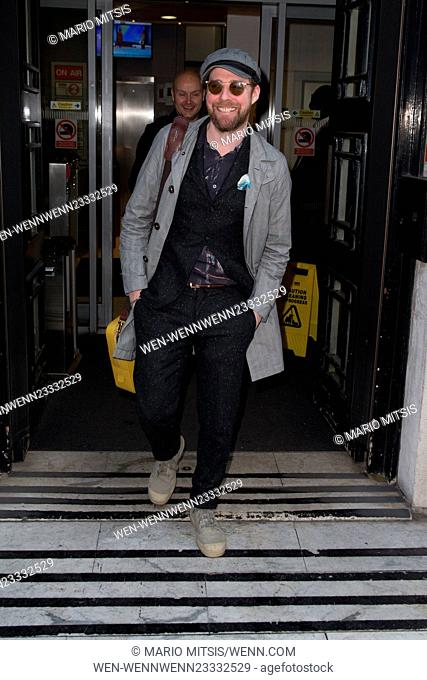 Ricky Wilson pictured arriving at the Radio 2 studio Featuring: Ricky Wilson Where: London, United Kingdom When: 08 Jan 2016 Credit: Mario Mitsis/WENN