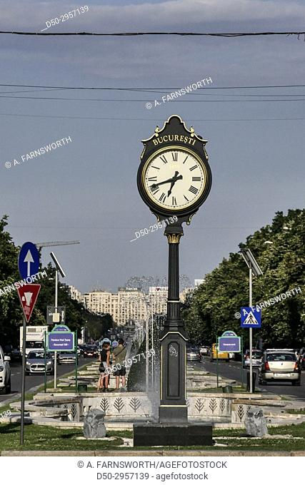 BUCHAREST, ROMANIA Bucharest, in southern Romania, is the country's capital and commercial center. Its iconic landmark is the massive