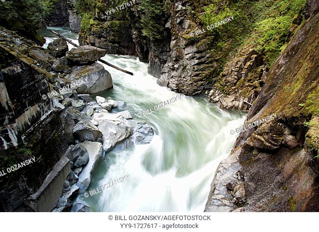 Coquihalla River near Othello Tunnels - Coquihalla Canyon Provincial Park - Hope, British Columbia, Canada