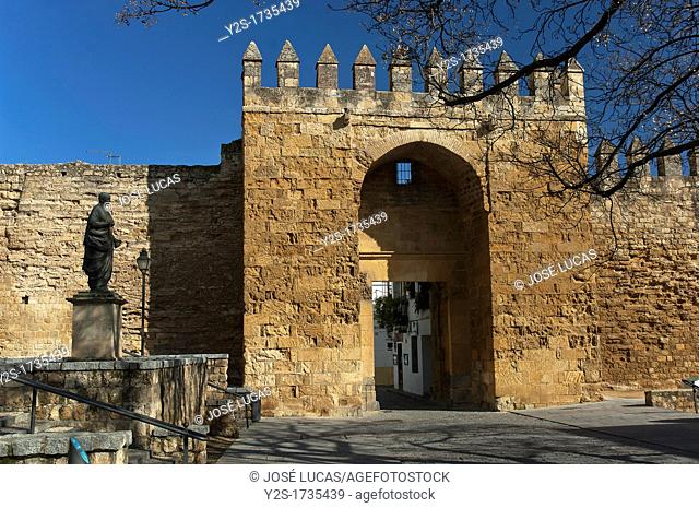Almodovar door-walls, Cordoba, Spain