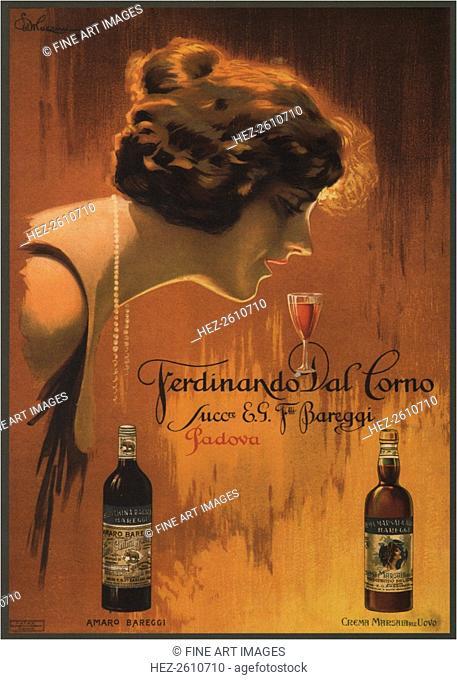 Ferdinando Dal Corno, 1921. Artist: Mazzini, Ettore (1891-1960)