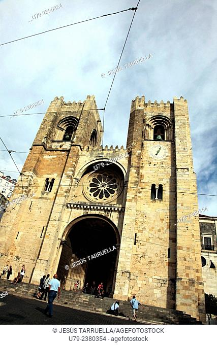 Sé de Lisboa (Santa Maria Maior), Cathedral of Lisbon, Portugal
