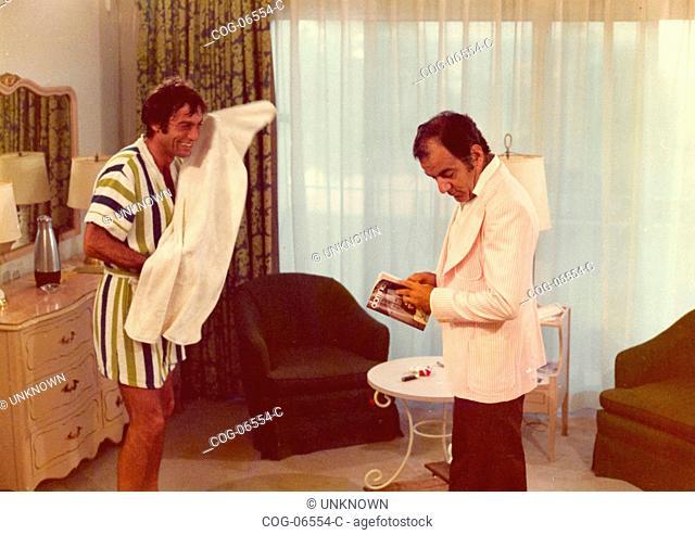 Actor Gabriele Tinti in the Italian movie La ragazza dalla pelle di corallo, 1976
