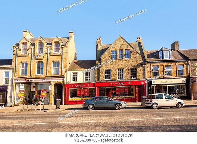 Streets of Peebles, Scotland