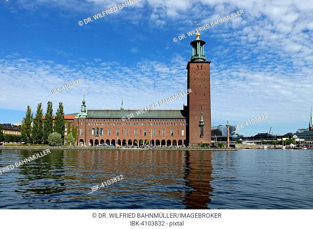 Town Hall, Stadshus, Stadshuset, Kungsholmen, Stockholm, Sweden