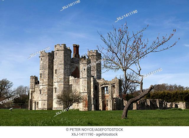 Titchfield Abbey ruin near Fareham in hampshire