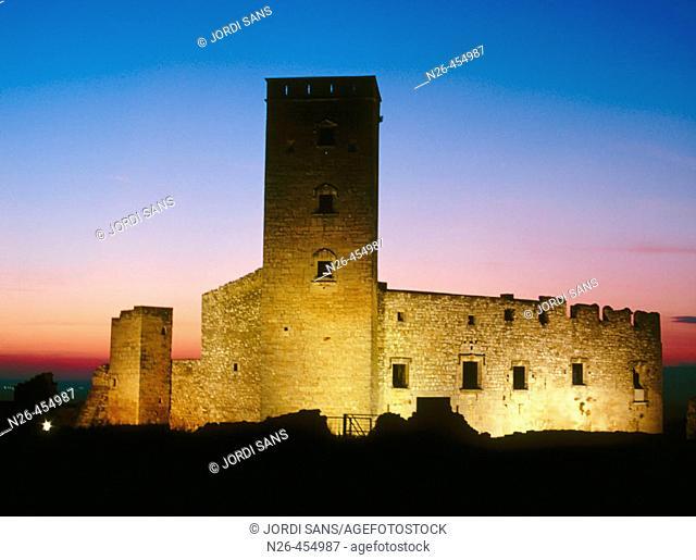 Ciutadilla castle, XIth, renewed in XVIth century. Ciutadilla. L'Urgell. Lleida province. Catalunya. Spain