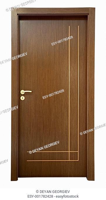 Wooden new classic door