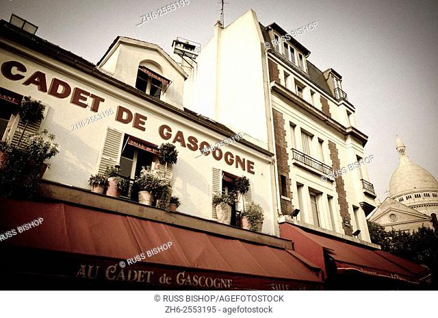Restaurant Cadet de Gascogne in Montmartre, Paris, France