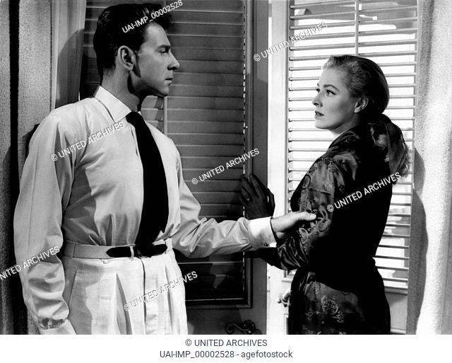 Hongkong war ihr Schicksal, (THE SEVENTH SIN) USA 1957 s/w, Regie: Ronald Neame, BILL TRAVERS, ELEANOR PARKER