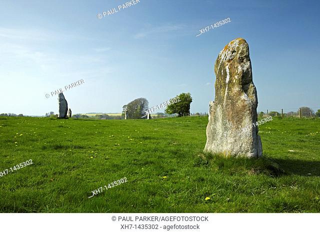 Avebury Stone Circle, Avebury, Wiltshire, England, UK