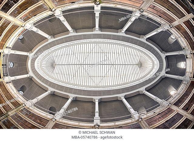 Ceiling of a mausoleum