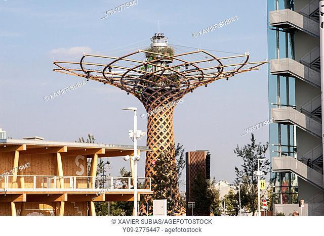 Tree of Life, Expo 2015, Milan, Lombardy, Italy