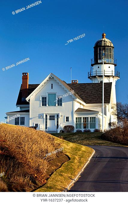 Cape Elizabeth Lighthouse Two Lights in Maine, USA