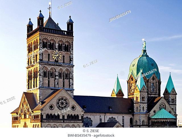 basilica St Quirinus, Germany, North Rhine-Westphalia, Lower Rhine, Neuss