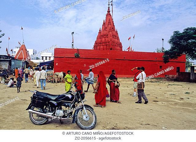 Hindu Temple, Uttar Pradesh state, India