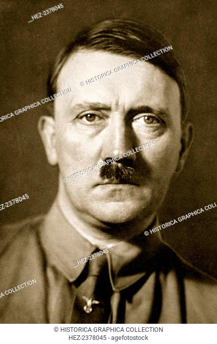 Adolf Hitler, leader of Nazi Germany, 1936. Adolf Hitler (1889-1945) became leader of the National Socialist German Workers (Nazi) party in 1921