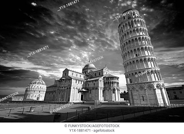 The Duomo & Leaning Tower of Pisa, Italy
