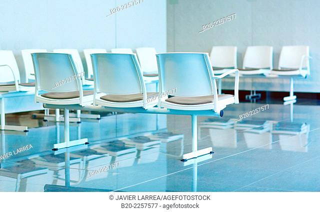 Waiting room. Onkologikoa Hospital. Donostia, San Sebastian. Gipuzkoa. Basque Country. Spain