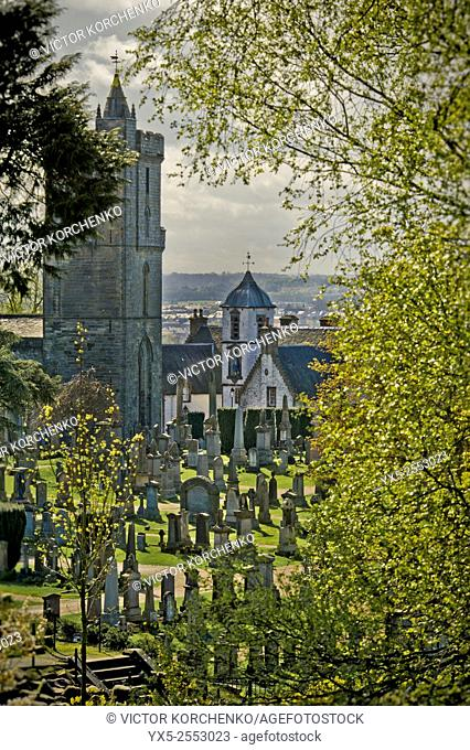 cemetery near Stirling Castle, Scotland