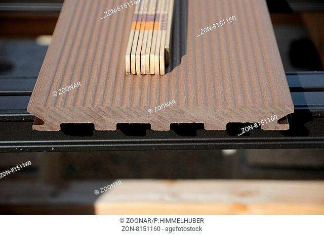 Holzterrasse Bauen, Building A Wooden Deck, WPC Bretter