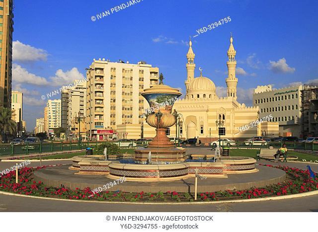 Fatima Al Zahra Mosque, Sharjah, UAE