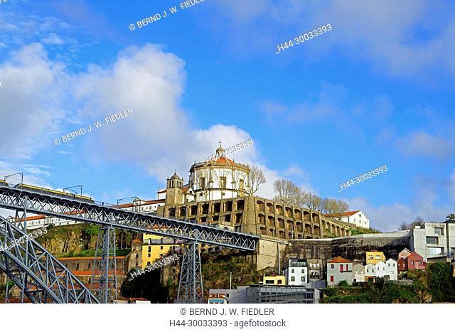 Duoro, Ponte Dom Luís I, Mosteiro da Serra do Pilar