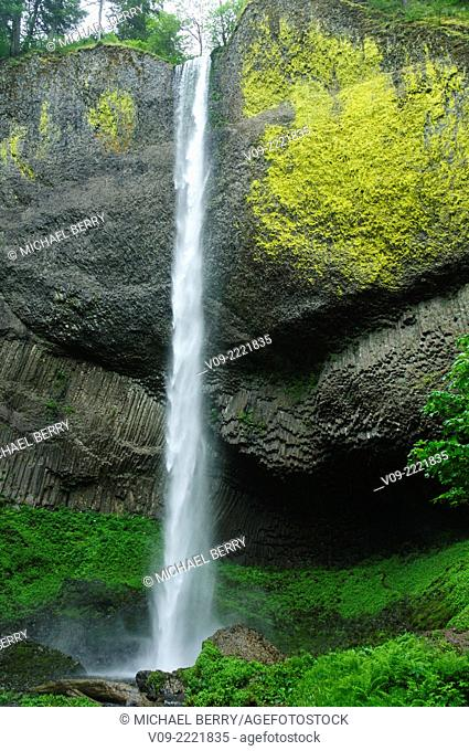 Latourell Waterfall, Oregon, USA