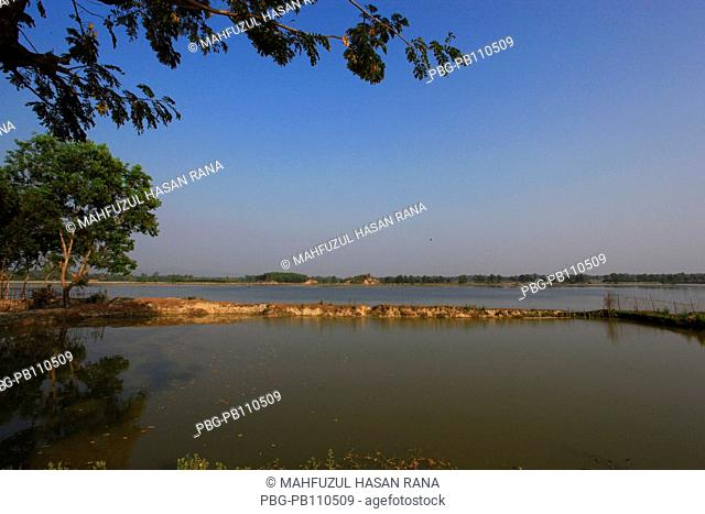 Beautiful landscape Coxs Bazar, Bangladesh February 2011