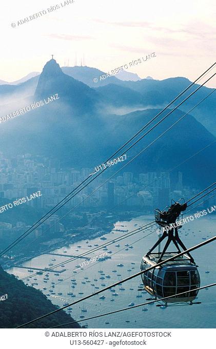Cableway, Rio de Janeiro,  Brazil